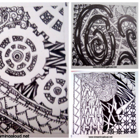 Zentangle Collage