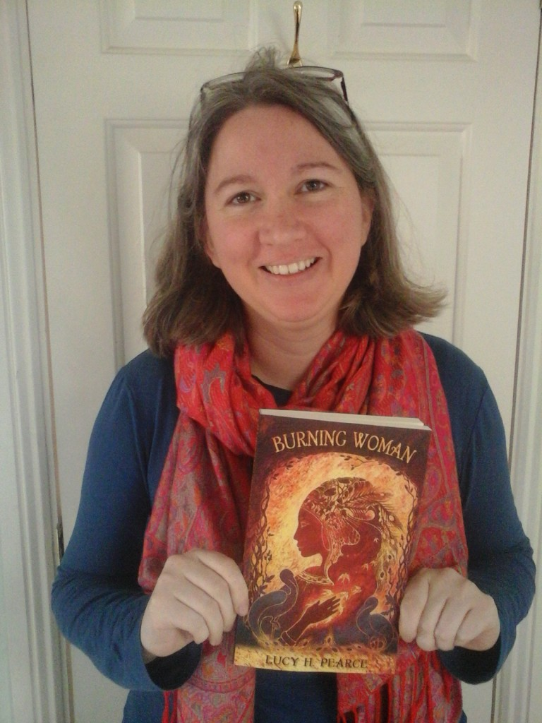 Burning Woman book and author Lucy H. Pearce