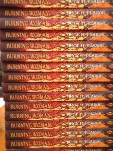 Burning Woman book by author Lucy H. Pearce