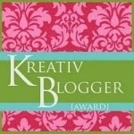 I am officially a Kreativ Blogger
