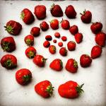 Strawberry Spirals